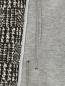 Пиджак из шерсти и хлопка  узором Emporio Armani  –  Деталь2